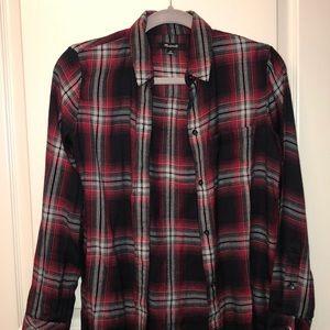 Madewell boyfriend flannel